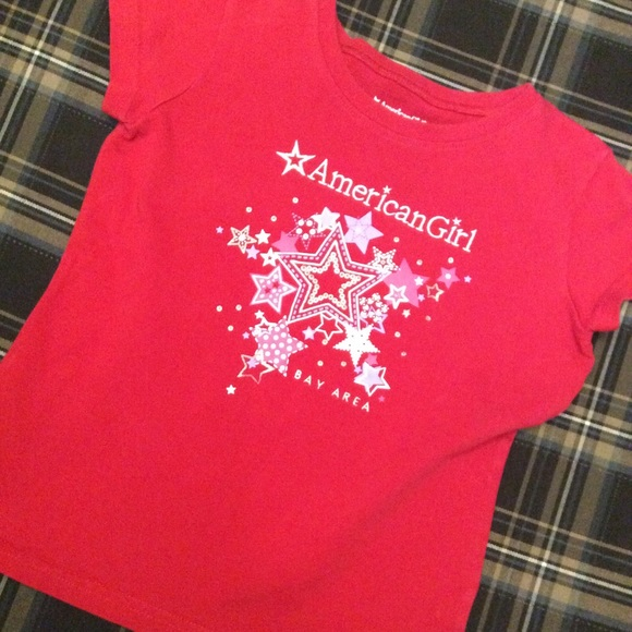 American Girl Other - American Girl Bay Area Red T-shirt size M (10/12)